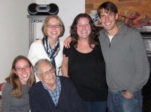 Grandpa and his grandchildren