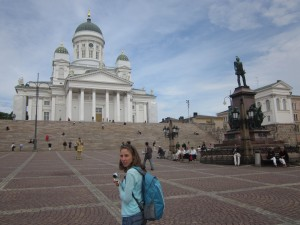 The Helsinki Cathedral in Senate Square