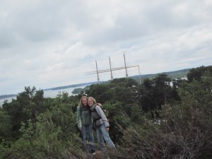 Hiking around Aland