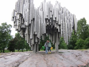 Rach and me and the Sibelius Monument